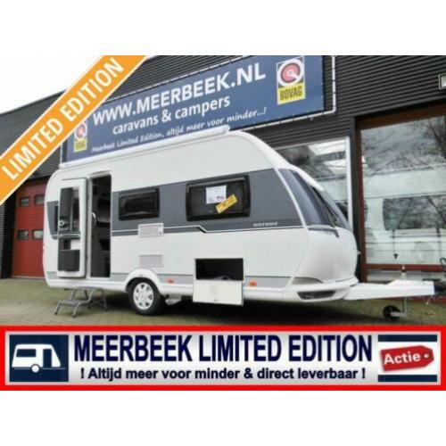 Hobby On Tour 460 DL - E3164 voordeel mover, Thule luifel