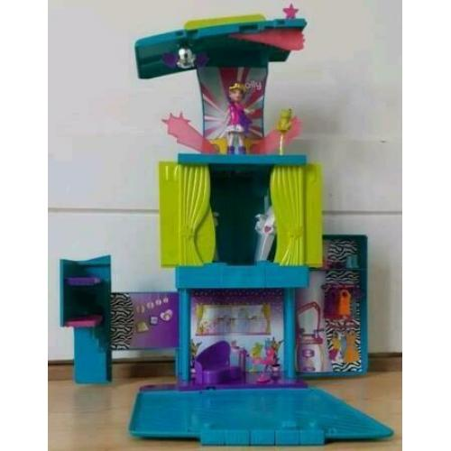 Polly pocket uitklapbaar podium